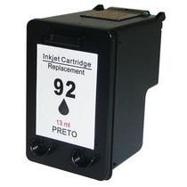Cartucho Compatível (novo) Hp 92 Black