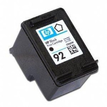 Cartucho Hp 92 Preto Compativel Extra Volume
