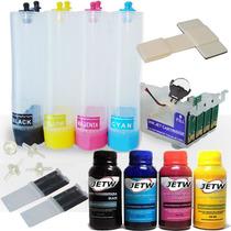Bulk-ink Tx210 Cx5600 Cx7300 C92 Cx4900 Cx8300 410 + Tinta