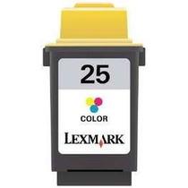 Cartucho Lexmark 25 Color Vazio Original