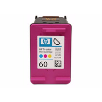 Cartucho Hp 60 Xl Color Compatível Import D110 F4280 F4480