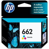Cartucho Hp 662 Color Original Impressora Hp 3516 2516 2546