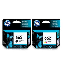 Kit 2 Cartuchos Hp 662 Preto/color Da 2516 3516 1516 2546