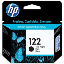 Cartucho Hp Original Lacrado 122 Preto Com 2ml