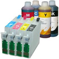 Cartucho Recarregavel Xp214 Xp204 Xp401 Xp411 +2 Litro Tinta