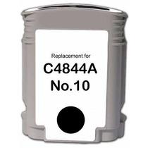 Cartucho Hp 10 Preto C4844a Black Compativel Novo 1000 2200