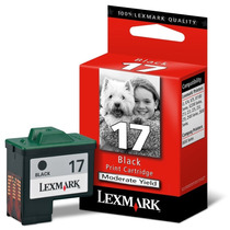 Cartucho De Tinta N.17 Preto Lexmark - 10n1183