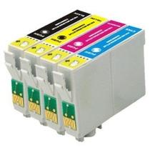 Kit 4 Cartuhos Epson 1331/131/t22/tx120/t25/tx123/tx125 Novo
