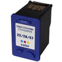 Cartucho Compativel Hp (j3680) Colorido 14ml 22/28/57
