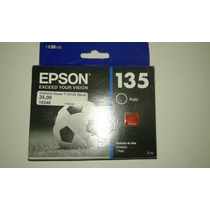 Cartucho Impressora Epson 135 125 123 Tx25 Preto Frente Grt