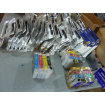 Epson C67 87 79 Kit Cartucho 0631 0632 0633 0634 Recarregáv