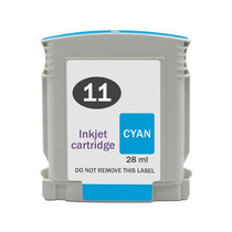Cartuchos De Tinta Hp 11 Cyan Com 28ml Compatível Novo