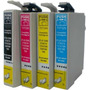 Kit 4 Cartuchos Epson Compativel To117 / To732/ To733/ To734
