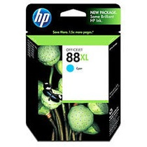 Cartucho Hp 88xl Ciano 22,5ml C9391al Hp Cx 1 Un Original