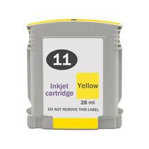 Cartuchos De Tinta Hp 11 Amarelo Com 28ml Compatível Novo