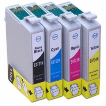 Kit 4 Cartuchos Compativeis Epson C92 / Cx5600