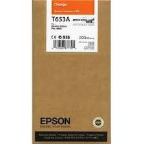 Epson Stylus T653a Laranja 200ml Pro 4900 (vencido)
