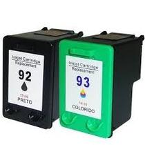 Par / Kit Cartucho Novo 92 93 1510 C3180 C4180 Frete+barato