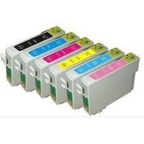 Kit Cartucho To781 Ao To786 Compativel Epson R380,r260 Novo!