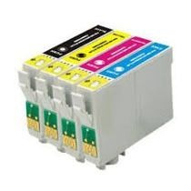 Kit 4 Cartucho Compativel P Epson C63 65 85 Cx3500 4500 6500