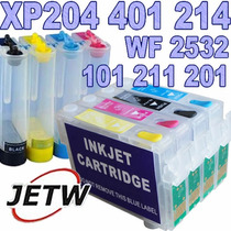 Bulk-ink Xp204 Xp401 Xp214 Xp201 Xp101 Xp211 Wf2532 Chip Ful