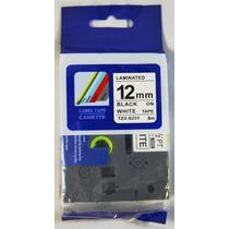 Fita Compativel Tze Tz-s231 Rotulador Brother Branca 12mm