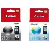 Kit Cartucho Tinta Canon 210 211 Mp250 Mp490 Mp480 Mp270