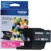 Lc-75m Lc-75 Xl Mfc-j6510dw Mfc-j6710dw J430w Brother Lc75m