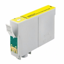 Cartucho Compatível Epson 135 133 T25 Tx123 Tx125 Yellow