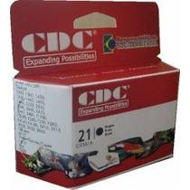 Cartucho De Tinta Cdc C9351a (21xl) Preto 12ml