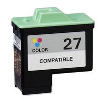 Cartucho Compatível Lexmark 27 (color).