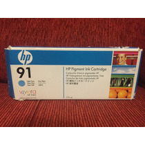 Cartucho Plotter Hp 91 Light Cyan C9470a