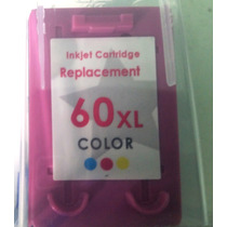Cartucho Compativel Hp 60xl Color Novo Importado