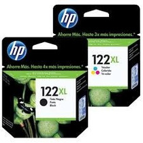 Cartuchos Hp 122xl Preto E Color - Ch563 E Ch564 - Original