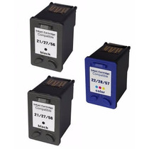 Kit 2+1 Cartucho De Tinta Hp 27 E 28 Hp Psc 1315v