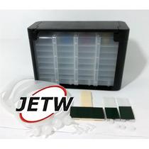 Reservatório Bulk-ink 4 Cores 1 Litro Anti-refluxo Cartucho