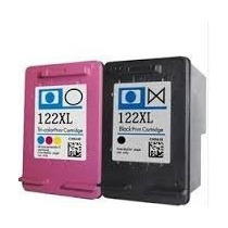 Cartuchos Hp 122xl Preto + Color Originais Com Mais Tinta !!
