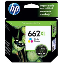 Cartucho Hp 662xl Color Original