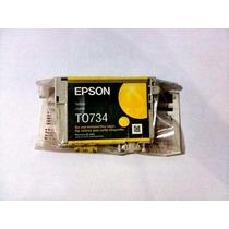Cartucho Epson T0734 Yellow Original P/ Tx200