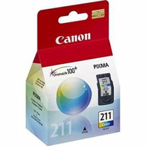Cartucho Canon Cl-211 Color P/mp270, Mp230, Mp250,mx340 Etc