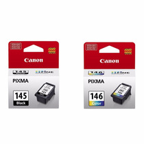 Kit 2 Cartucho Canon Pg145 Pg-145 Cl146 Cl-146 P Mg2410 2510