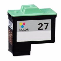 Cartucho Compatível Para Lexmark 27 Color - Z35 X1250 5,5ml