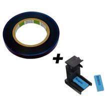 Fita Blue Tape Adesivo P/ Proteção De Cartuchos 100m + Snap