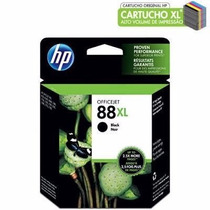 Cartucho Hp 88 Xl Preto / Black - 100% Original C9396al