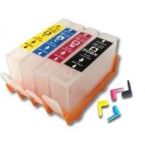 Cartuchos Recarregável Deskjet Hp564 670 934 C/chip+tinta