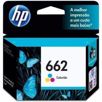 Cartucho Original Hp 662 Color Impressora Hp 3516 2516 2546