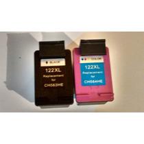 Kit Cartuchos Cheios 122xl Preto 20 Ml +122xl Color 18 Ml