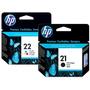 Cartuchos Originais Hp 21 Preto + 22 Color - Melhor Preço!!!