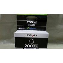 Cartucho Original Lexmark 200xl Preto Black 14l0174 82,5ml