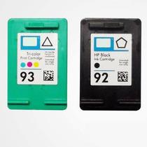 Par De Cartucho 92 + 93 Para Impressoras Hp1510 C3180 C4180